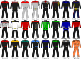 SpaceQuest Uniforms