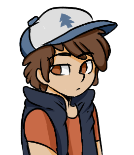 Dipper Doodle by Moonabelle
