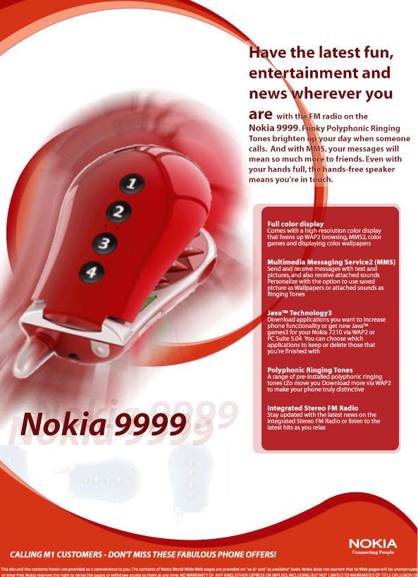Mock Flyer for handphone by Linko