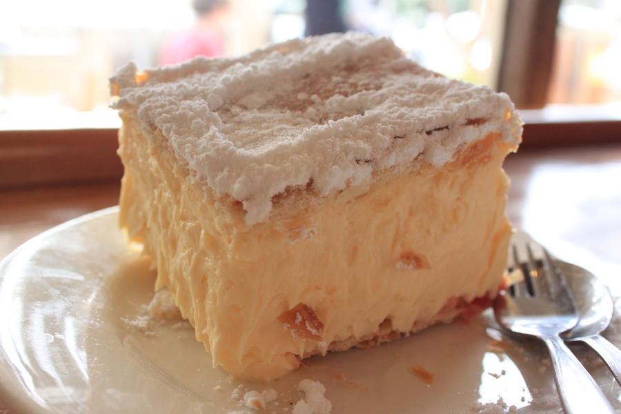 Vanilla Slice Cake Melbourne