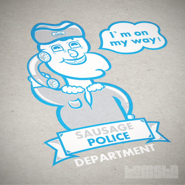 Sausage Police Department by TomStal
