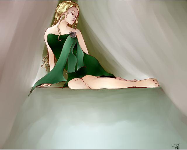 Slytherin Princess by Ya-aburnee