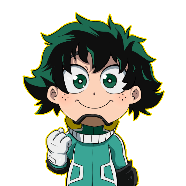 Deku Chibi By SciencePanda On DeviantArt