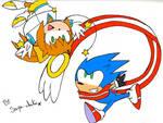 Saya and Sonic Skyline