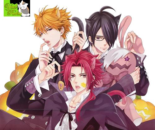 render: Azusa,Natsume y Yusuke by YaelRukia
