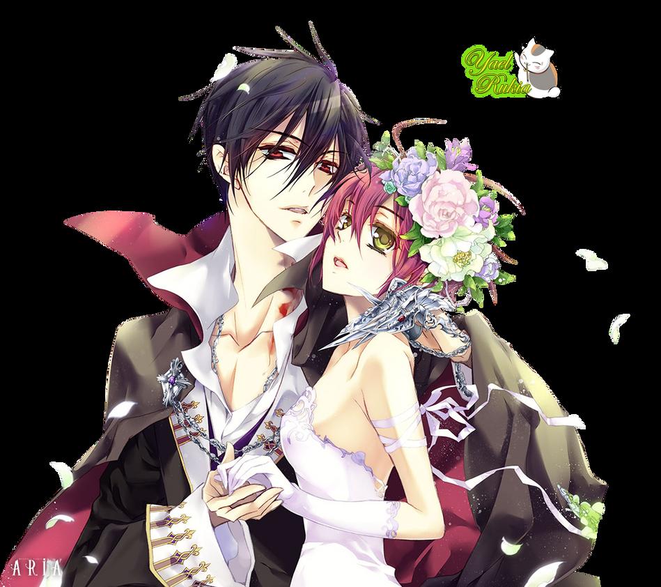 80 Renders Mangas Amour/Amitié Render__aki_y_cana_by_yaelrukia-d6w0i7b