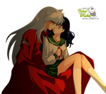 Render:Inuyasha y Kagome