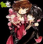 Render- Crow y Violeta
