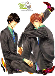 Render-Fumi y Shumpei