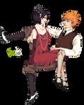 Render: Ichigo y Rukia