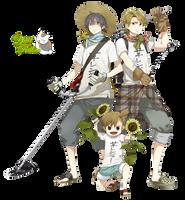 render: Seishu, Hiroshi y Naru by YaelRukia