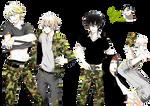 Render: Aoharu x Kikanjuu