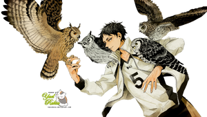 Render: Akaashi Keiji 3