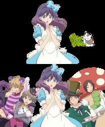Render Watashi ga motete dousunda  Wonderland
