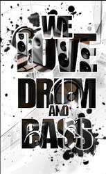 Drum'N'Bass logo by NewX4