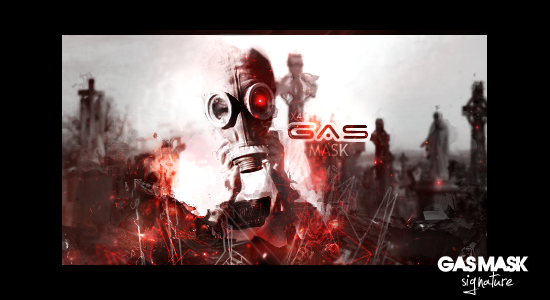 Gas mask signature by NewX4