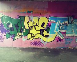 graffiti wall 1 by NewX4