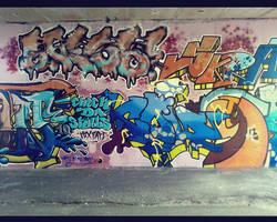 graffiti wall 2 by NewX4