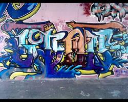 graffiti wall 3 by NewX4