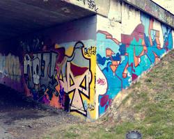 graffiti wall 4 by NewX4