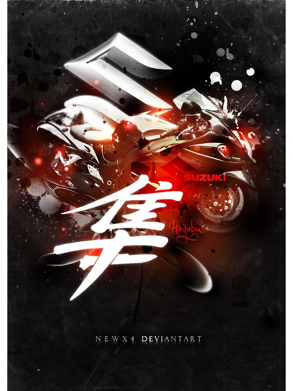 Suzuki Hayabusa by NewX4