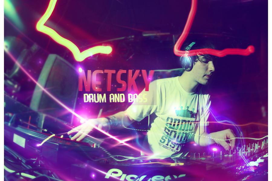 Netsky dnb. by NewX4