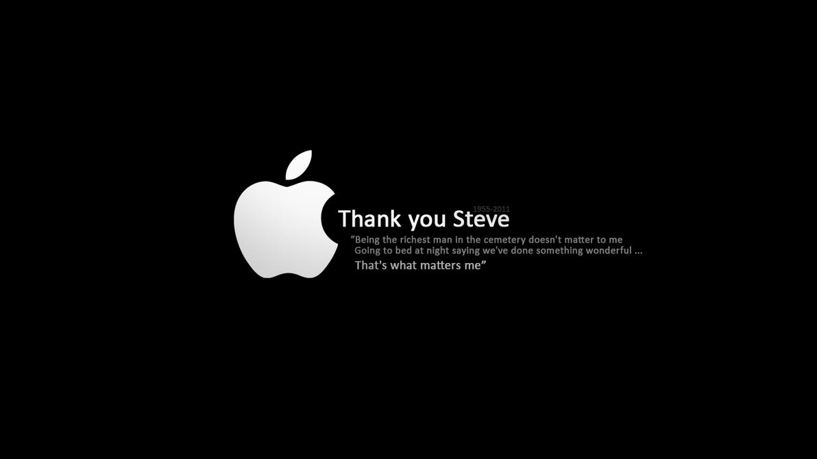 RIP Steve Jobs - wallpaper by NewX4