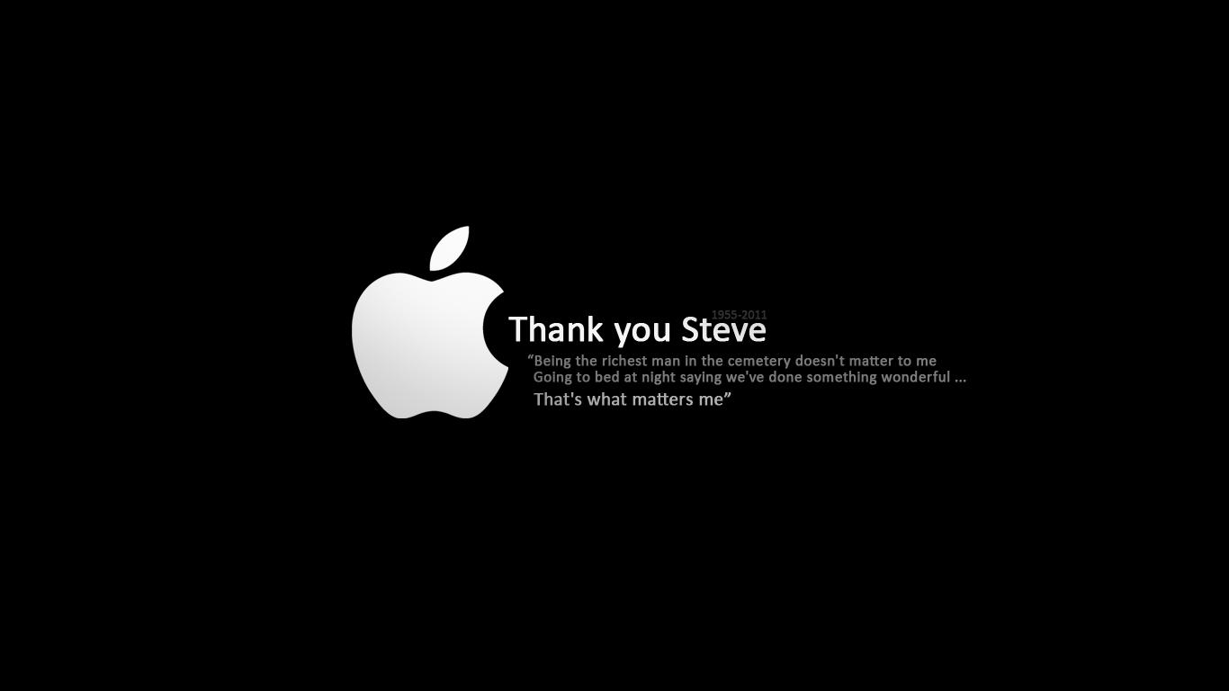 Rest In Peace Steve Jobs >> Rip Steve Jobs Wallpaper By Newx4 On Deviantart