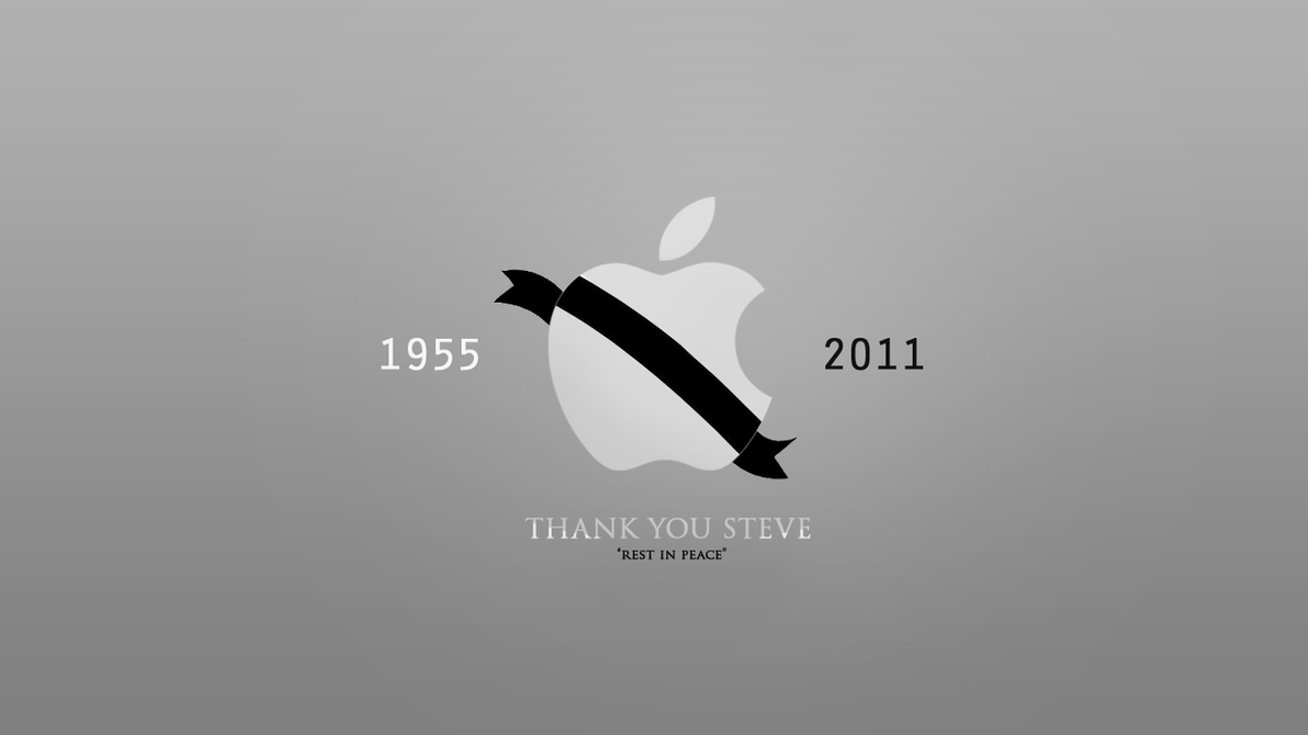 RIP Steve Jobs - wallpaper by NewX4