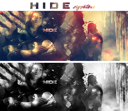 Hide signature by NewX4