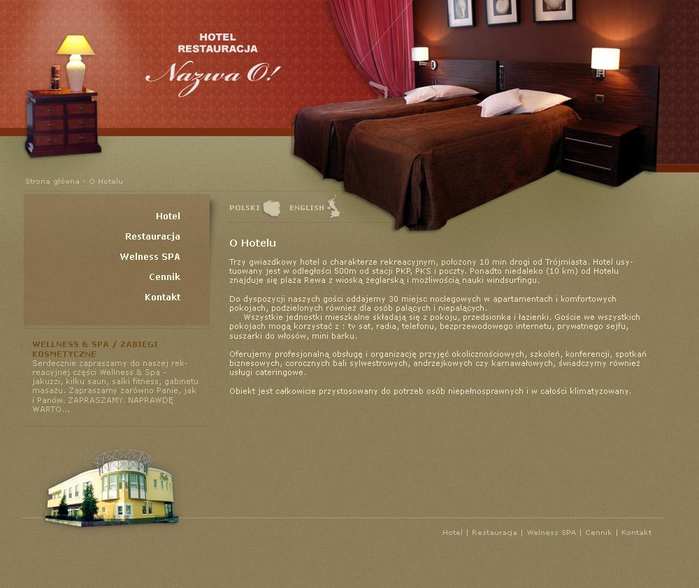 Hotel - template for joomla. by zawszeZLE