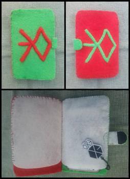 EXO felt phone case