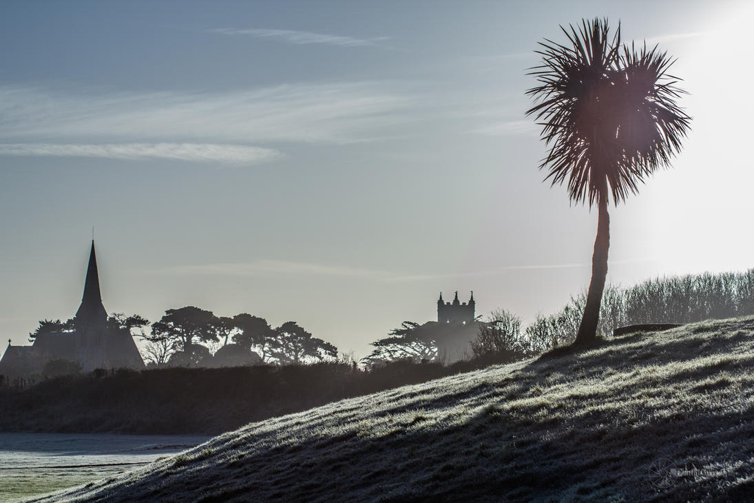 A Frosty Morning in Skerries by DanielGeesen