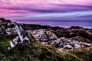 A Vivid Skerries Sunset by DanielGeesen