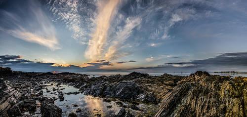 Late June Sunset by DanielGeesen