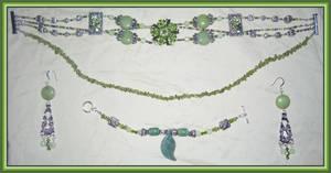 Green Goddess Set
