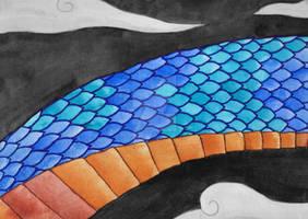 Dragon in the night