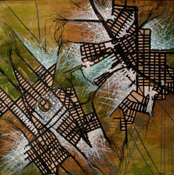Webbing - Organic Cities by Kiri-aki