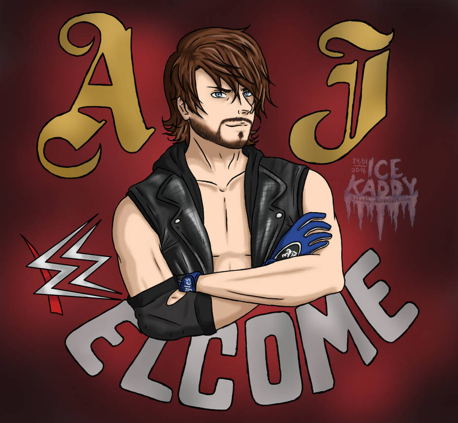 AJ Styles Is Ready To Rumble- Welcome To The WWE By