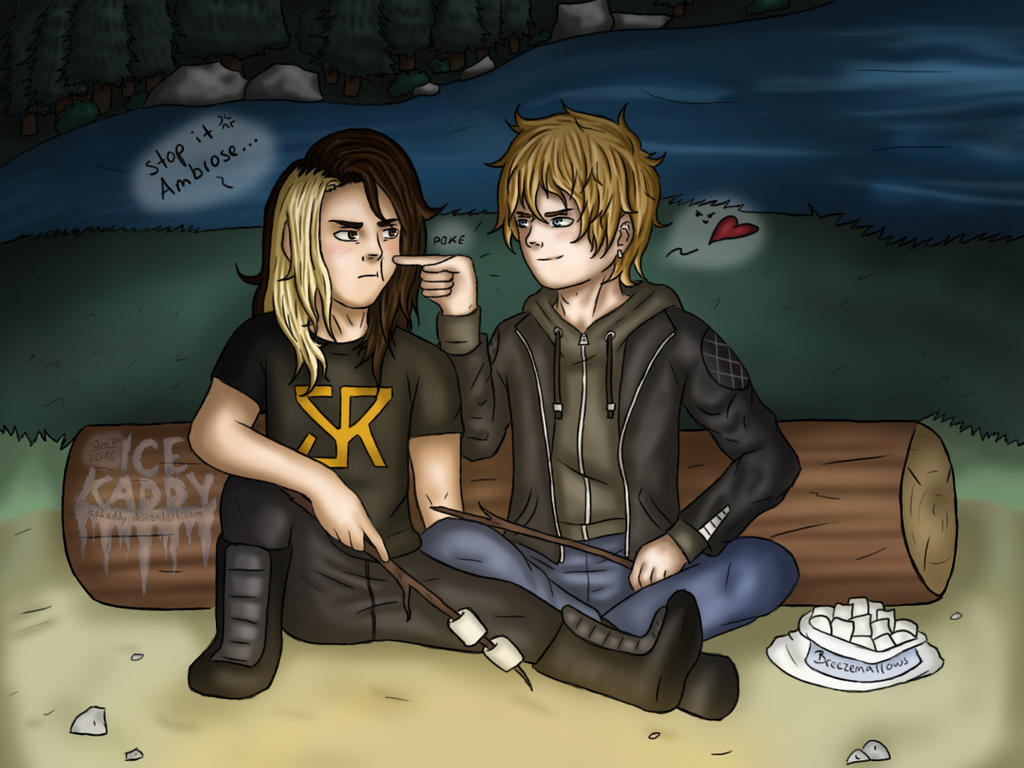 Poke by the Campfire [Camp WWE] by IceKaddy