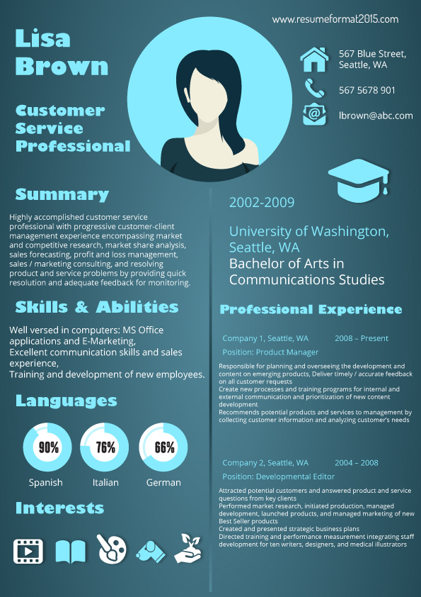 latest resume format 2015 by ashtonsharman on deviantart - Latest Resume Template