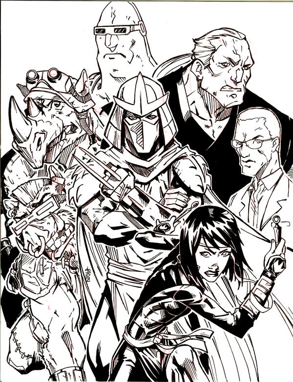 foot soldier tmnt coloring pages - photo#12