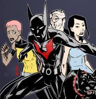 Batman Beyond by lroyburch