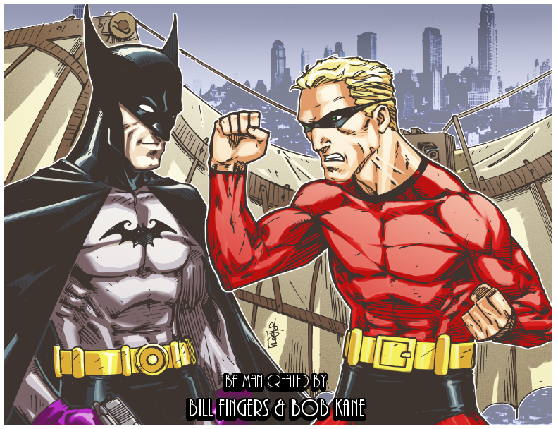 http://fc07.deviantart.net/fs71/f/2013/186/c/e/bill_finger_batman_vs_bob_kane_batman_by_lroyburch-d66oc8g.jpg