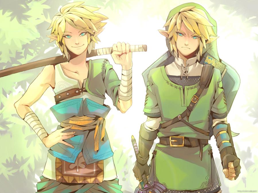 Link And Link By Monospec-d4rqjje by yo-yaru