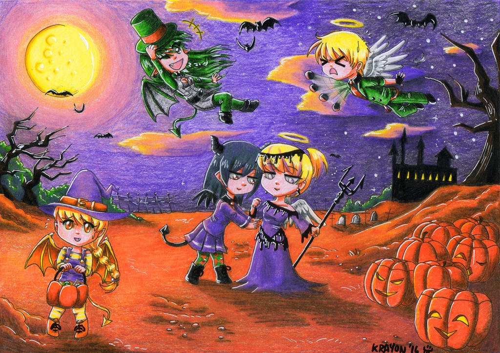 Trick or Treat by Val-Krayon