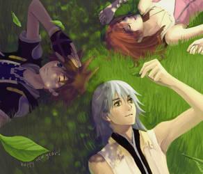 Kingdom Hearts II - Start Over by junsui