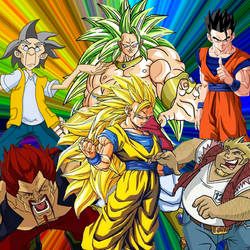 My Favourite Characters by dbzfan7