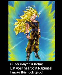 Goku SSJ3 by dbzfan7