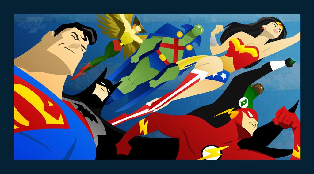 heroes of justice by jamesvaughnn